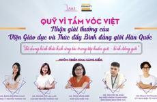 Quỹ Vì Tầm Vóc Việt nhận giải thưởng của Viện Giáo dục và Thúc đẩy Bình đẳng giới Hàn Quốc (KIGIPE)
