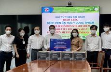 Quỹ Từ thiện Kim Oanh hỗ trợ thuốc điều trị Covid-19 cho các bệnh viện tuyến đầu