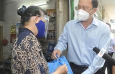 Phó Bí thư Thành ủy TP HCM Nguyễn Hồ Hải thăm các 'vùng xanh' ở quận Tân Bình