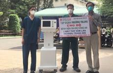 Tập đoàn Phương Trang tặng thêm nhiều thiết bị y tế cho tuyến đầu chống dịch tại TP HCM