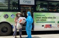 'Siêu thị mini di động' bán thực phẩm giá bình ổn lần đầu tiên xuất hiện tại TP HCM