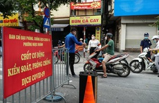Hà Nội kéo dài giãn cách xã hội đến 6 giờ ngày 23-8
