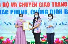 TNG Holdings Vietnam ủng hộ máy và 3.000 kit xét nghiệm PCR cho Hà Nội