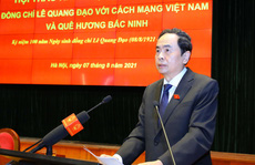 Ông Lê Quang Đạo - Tấm gương sáng về đạo đức cách mạng