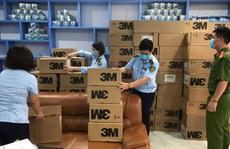 Đột kích công ty bán hơn 17.000 khẩu trang có dấu hiệu giả mạo thương hiệu 3M
