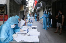 Lấy 227.811 mẫu trong cộng đồng, đã phát hiện 18 mẫu dương tính SARS-CoV-2