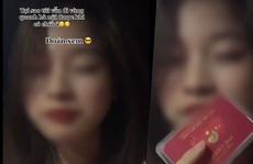 Cô gái đăng clip khoe 'tấm thẻ đỏ của ba' để đi vòng quanh Hà Nội khi giãn cách xã hội