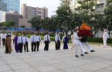 Lãnh đạo TP HCM dâng hương, dâng hoa Chủ tịch Hồ Chí Minh, Chủ tịch Tôn Đức Thắng