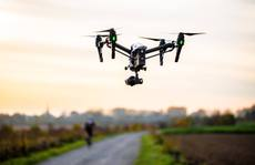 Huyện có 31 ca mắc Covid-19 dùng flycam giám sát người dân thực hiện giãn cách xã hội