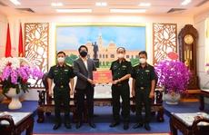 Dầu nhớt AP Saigon Petro đồng hành cùng Bộ Tư lệnh Thành phố chống dịch