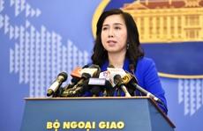Việt Nam lên tiếng việc Trung Quốc thi hành Luật An toàn giao thông hàng hải sửa đổi
