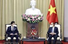 Chủ tịch nước đề nghị Nhật Bản tiếp tục hỗ trợ vắc-xin cho Việt Nam