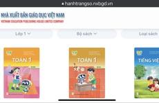 Báo Người Lao Động điện tử giúp học sinh, giáo viên tiếp cận sách giáo khoa số