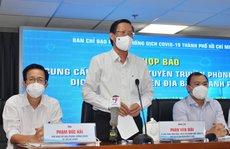 Chủ tịch UBND TP HCM: 'Thống kê bà con gặp khó khăn chưa đầy đủ, chúng tôi nhận khuyết điểm'