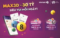 Vietlott ra mắt sản phẩm xổ số tự chọn Max 3D Pro