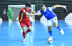 Việt Nam thua đậm Brazil trong trận ra quân Futsal World Cup 2021