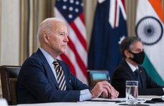 """Tổng thống Biden làm việc chưa từng có với """"Bộ tứ"""""""