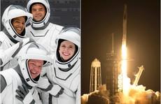 SpaceX đưa thành công 4 khách du lịch vũ trụ lên quỹ đạo