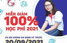 Trường Cao đẳng Sài Gòn Gia Định miễn giảm 100% học phí học kỳ I