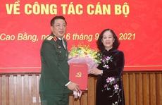 Trung tướng, Chủ nhiệm Tổng cục Công nghiệp Quốc phòng làm Bí thư Cao Bằng