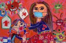 Triển lãm trực tuyến 'Giải thưởng Mỹ thuật thiếu nhi'