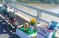 Tìm kiếm nam thanh niên nhảy cầu Giao Thủy ở Quảng Nam
