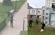 Chạy trốn 'sói đơn độc', sinh viên Nga thi nhau nhảy lầu
