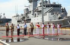 Nhóm tàu tác chiến hải quân Úc thăm Việt Nam