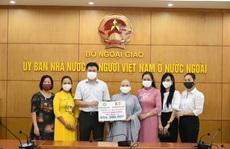 Trao quà của kiều bào quyên góp ủng hộ phòng, chống Covid-19 trong nước
