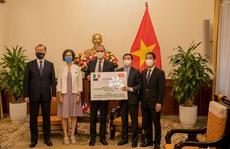 Ý viện trợ thêm 796.000 liều vắc-xin Covid-19 cho Việt Nam