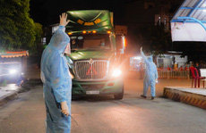 Chợ đầu mối nông sản Hóc Môn sáng đèn trở lại