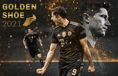 Lewandowski lần đầu đoạt 'Chiếc giày vàng châu Âu'