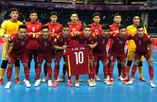 Việt Nam thua sít sao Nga ở vòng 1/8 FIFA Futsal World Cup 2021