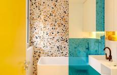 10 mẫu phòng tắm cho người thích màu sắc