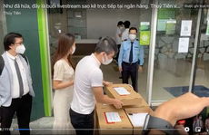 Vietcombank lên tiếng về 'tạm khóa báo có tài khoản'