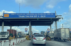 Từ 0 giờ ngày 24-9, Trạm T3 Bà Rịa -Vũng Tàu thu phí trở lại
