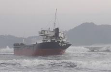 Bị tàu hàng đâm, 2 ngư dân trên tàu cá Bình Định rơi xuống biển mất tích