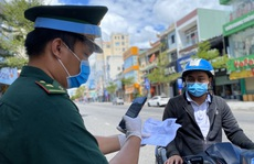 Đà Nẵng tiếp tục sử dụng giấy đi đường