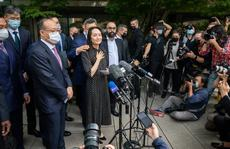 Công chúa Huawei Mạnh Vãn Chu đã về đến Trung Quốc?