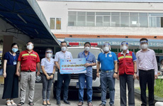Xã hội chung tay hỗ trợ tuyến đầu phòng chống dịch