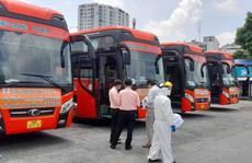 Nhiều phụ nữ mang thai được đón từ TP HCM về Bà Rịa- Vũng Tàu