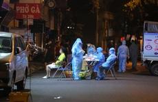 Phát hiện 1 ca nhiễm SARS-CoV-2 trên con phố sát Bệnh viện Việt Đức