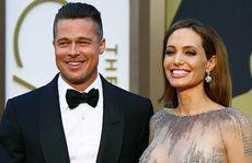 Angelina Jolie bất an khi cùng các con sống với Brad Pitt