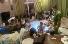 Nhóm nam, nữ thanh niên thuê biệt thự tổ chức 'tiệc ma túy'