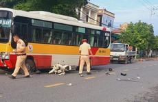 Nam sinh 15 tuổi bị xe buýt tông tử vong trong ngày đầu tới trường