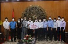 Hội Doanh nhân trẻ Việt Nam hỗ trợ tuyến đầu chống dịch tại Long An