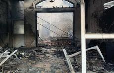 Giận vợ, chồng đổ xăng, châm lửa đốt tiệm Spa