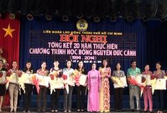 542.157 suất học bổng Nguyễn Đức Cảnh đã được trao