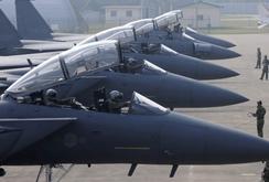 Máy bay ném bom Mỹ - Hàn tập luyện ném bom