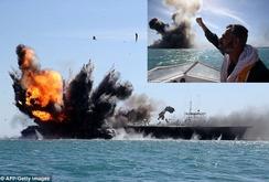 Iran có thể tiêu diệt tàu chiến Mỹ trong 50 giây?